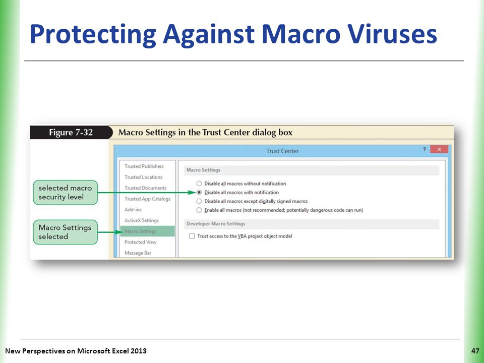 Protecting Against Macro Viruses