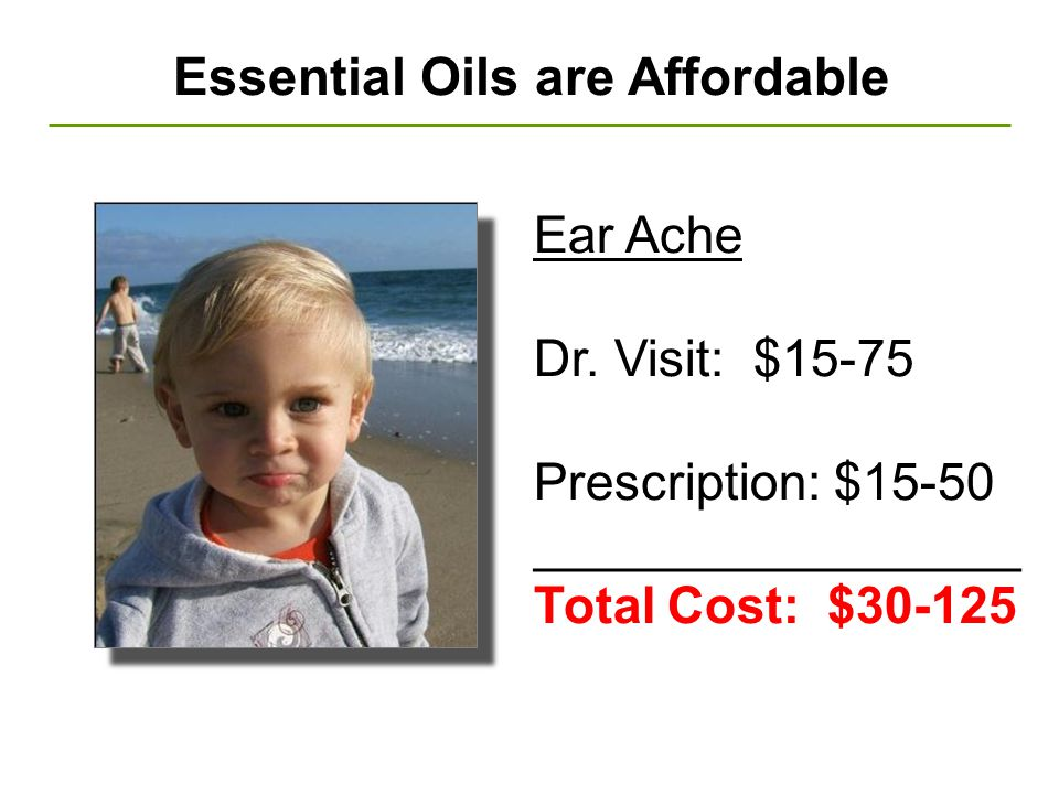 Essential Oils are Affordable