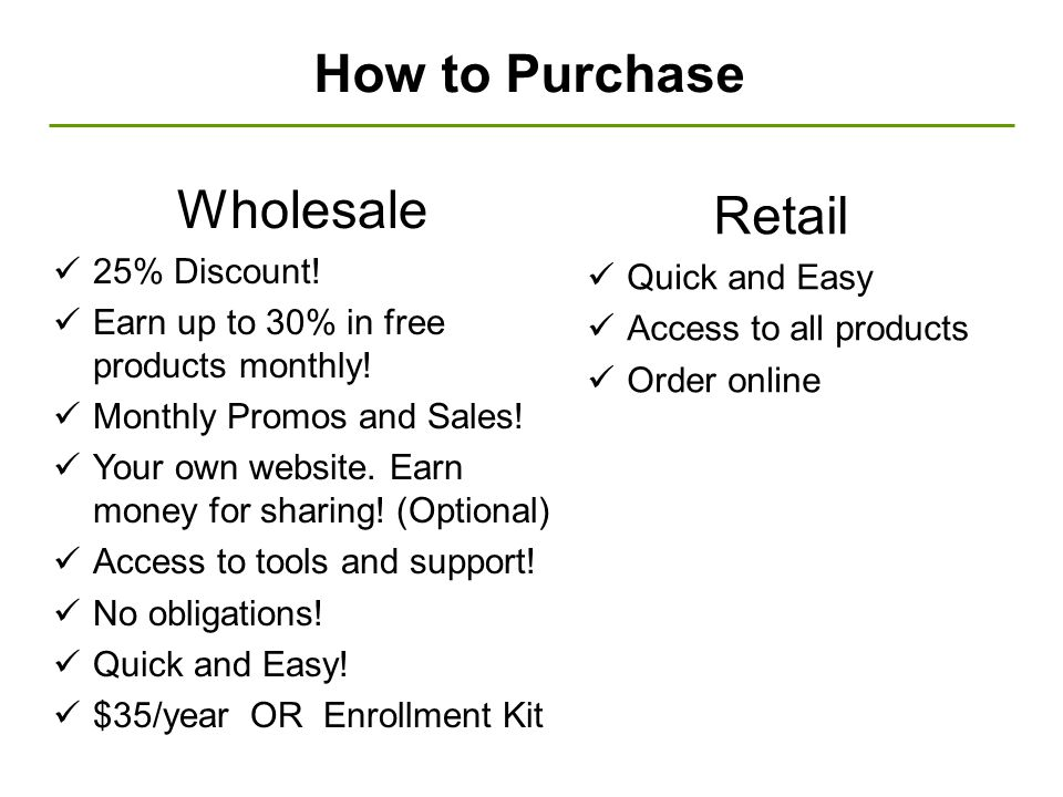 How to Purchase Wholesale Retail 25% Discount! Quick and Easy