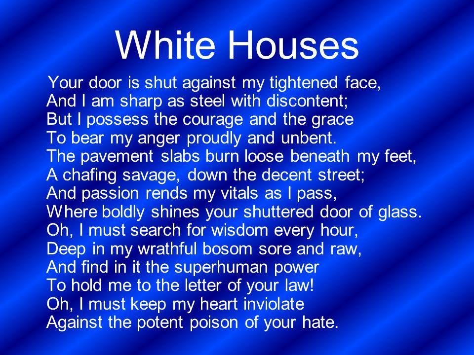 claude mckay white house analysis