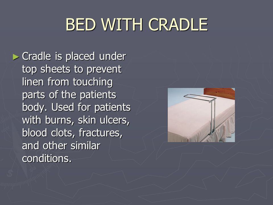 BED WITH CRADLE