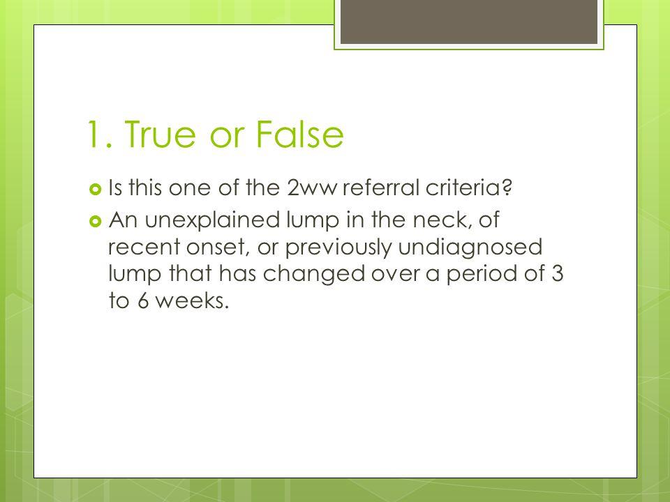 2 week wait referral criteria - ppt video online download
