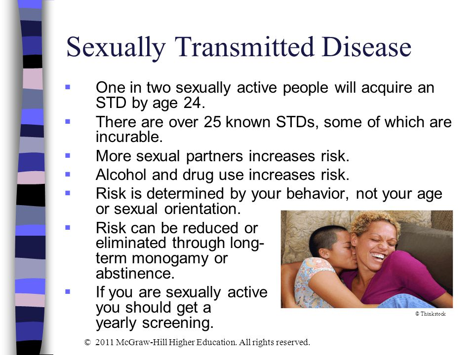 Two sexually transmitted diseases