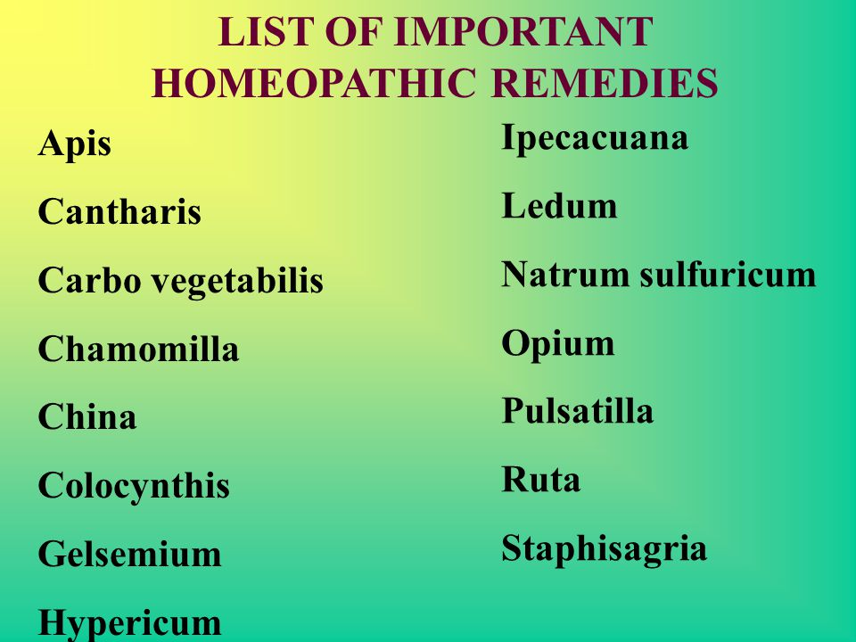 HOMEOPATHY IN ACUTE CASES - ppt download