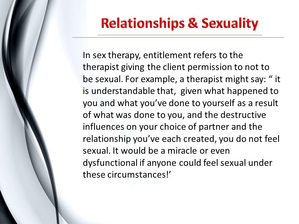 Relationships & Sexuality