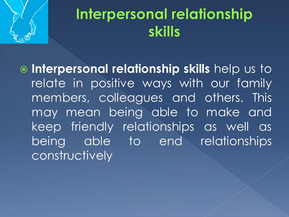 what does interpersonal mean