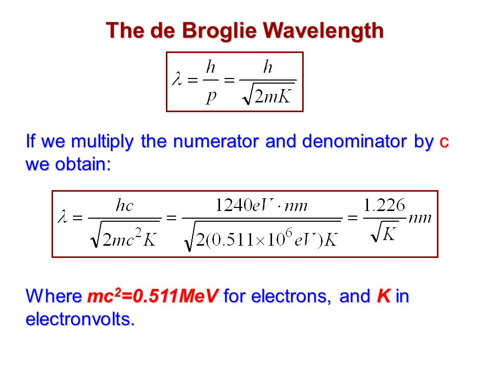 bf3f54b14681 The Wavelike Properties of Particles - ppt download