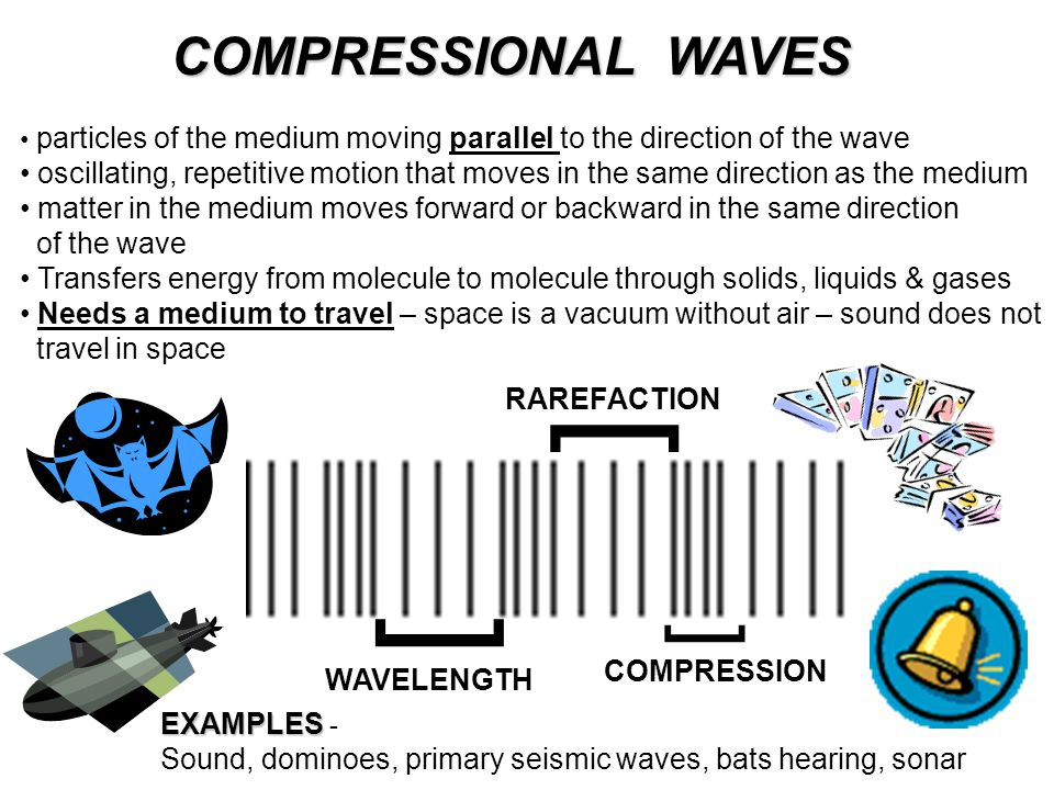 ] ] ] COMPRESSIONAL WAVES