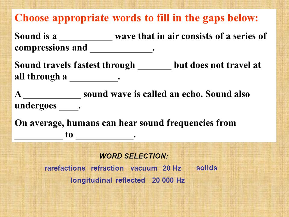 Choose appropriate words to fill in the gaps below: