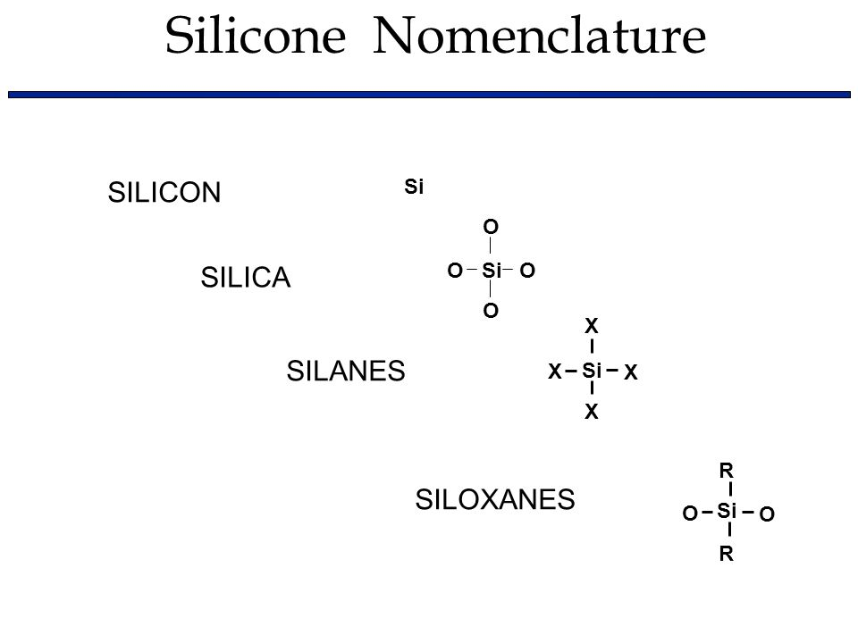 silicone polymer synthesis