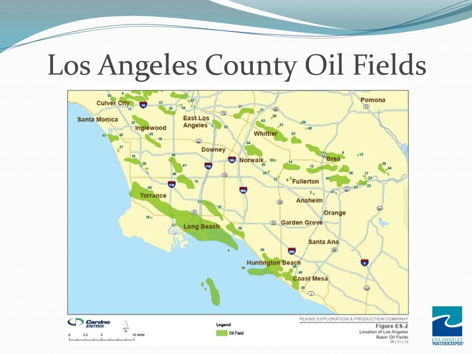 Los Angeles County Oil Fields
