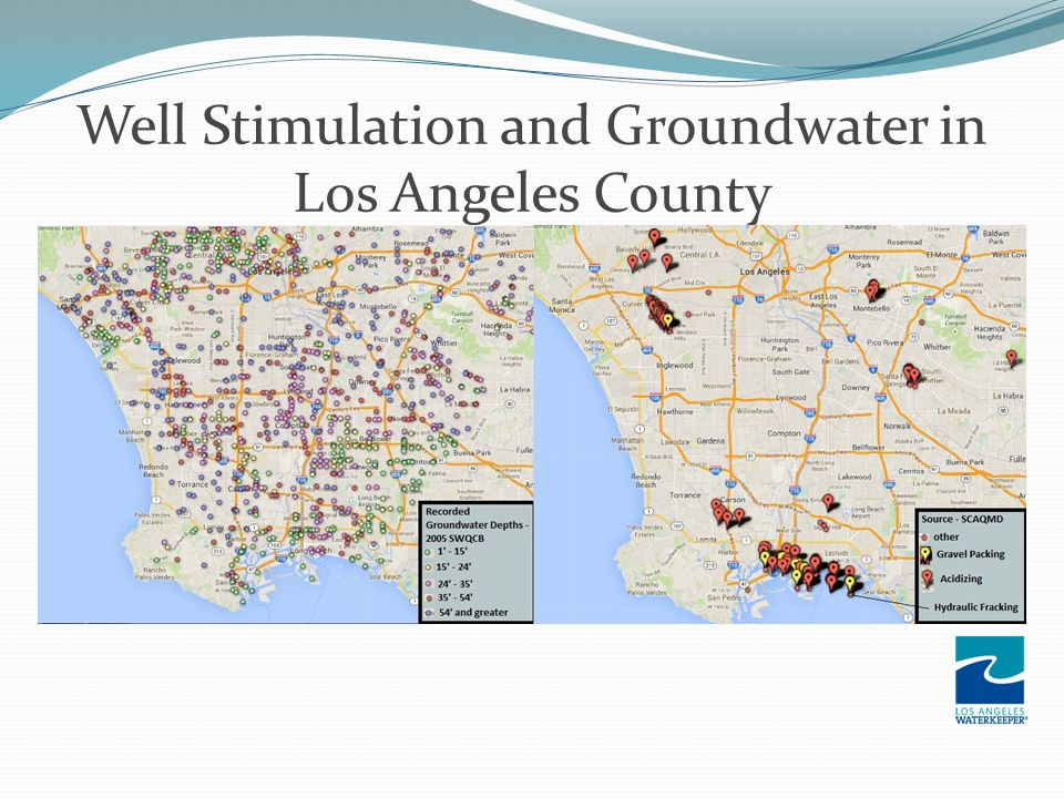 Well Stimulation and Groundwater in Los Angeles County