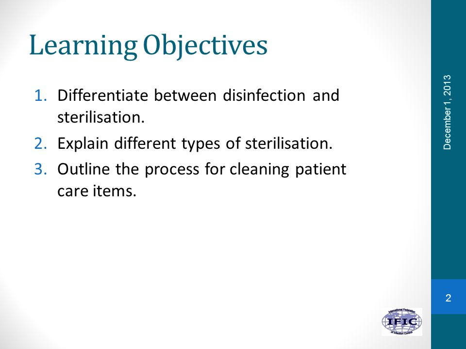 what is the difference between sterilisation and disinfection