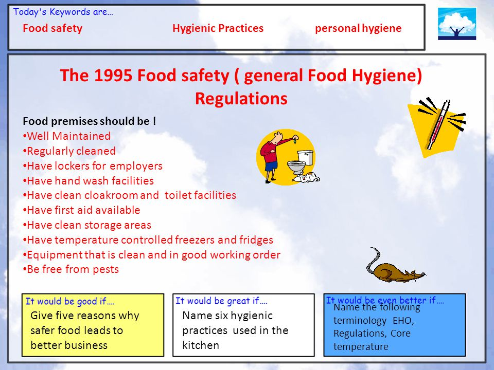Health, Safety and Hygiene - ppt download
