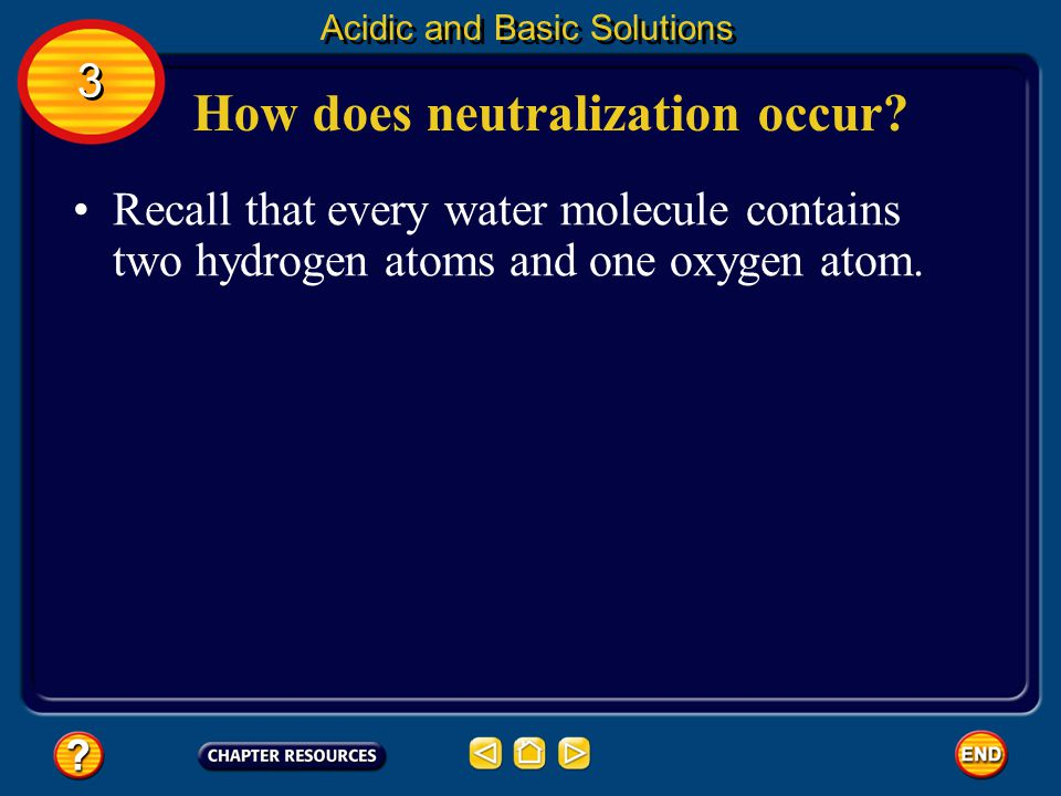 How does neutralization occur