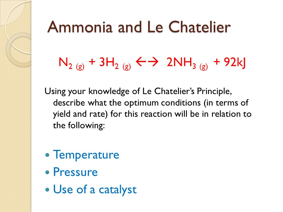 equilibrium and le chateliers principle lab report