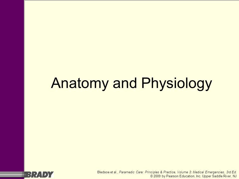 Paramedic Care: Principles & Practice Volume 3 Medical Emergencies ...