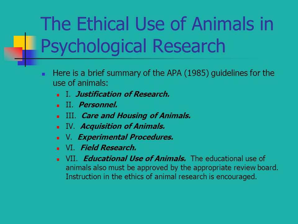 ethics in psychological research paper The importance of research ethics in scientific research signifies the credibility of researchers in the community and also helps avoid scientific misconduct in research, ethical norms help researchers ensure that trust and integrity are maintained in the study.