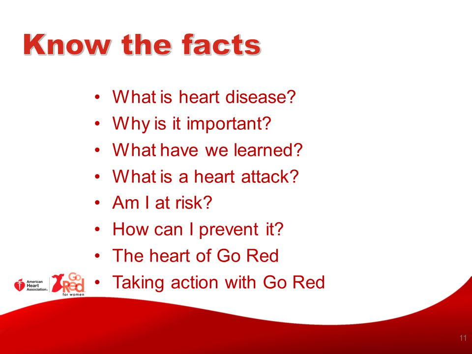 Know the facts What is heart disease Why is it important