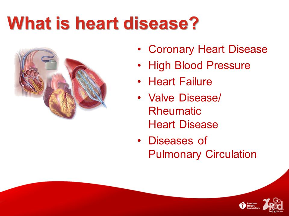 What is heart disease Coronary Heart Disease High Blood Pressure