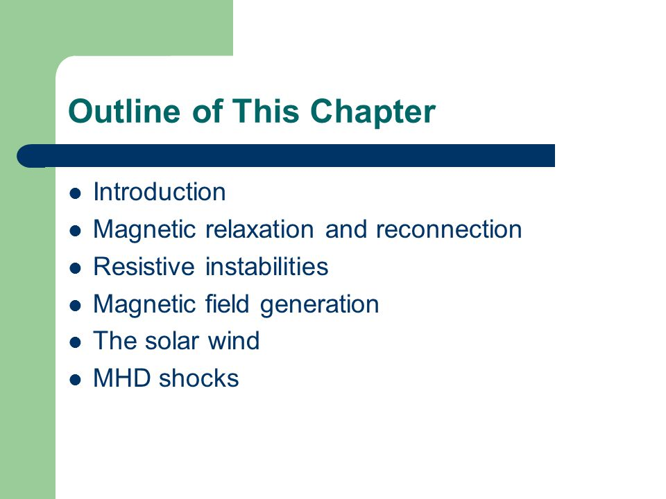 Resistive Magnetohydrodynamics - ppt video online download