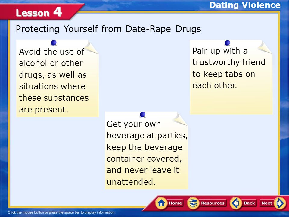 Protecting Yourself from Date-Rape Drugs
