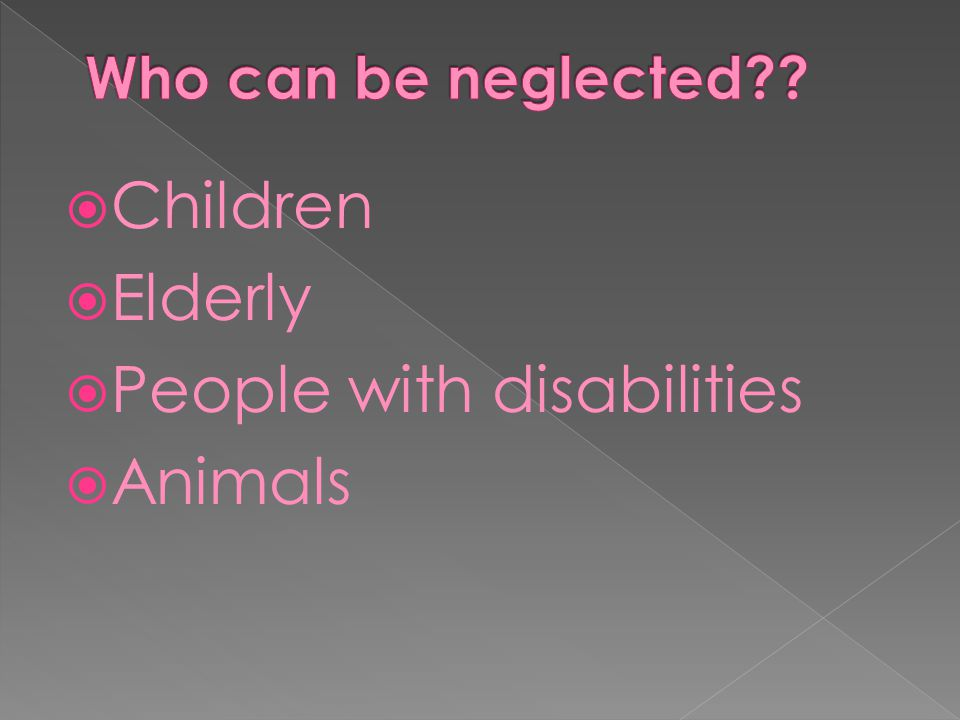 People with disabilities Animals