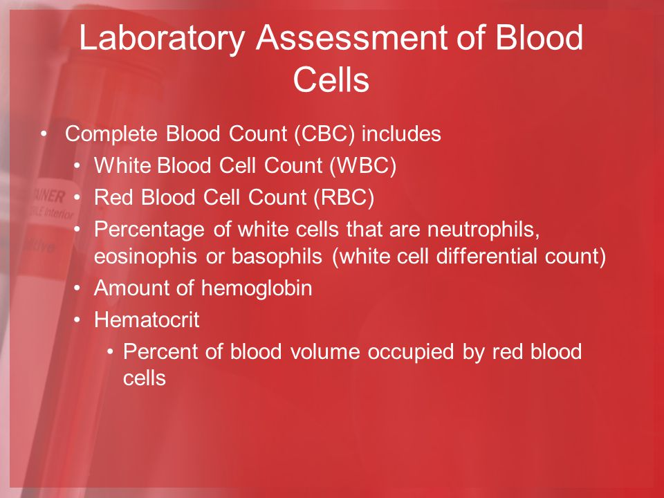 tramadol white blood cell count
