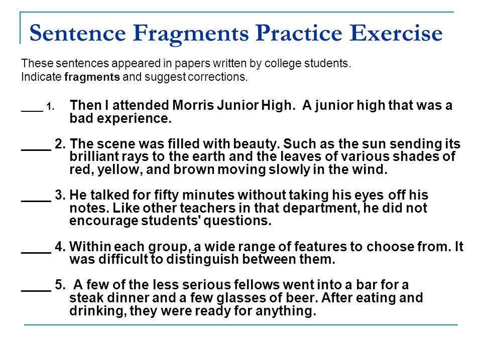 Completing Sentences Ppt Video Online Download