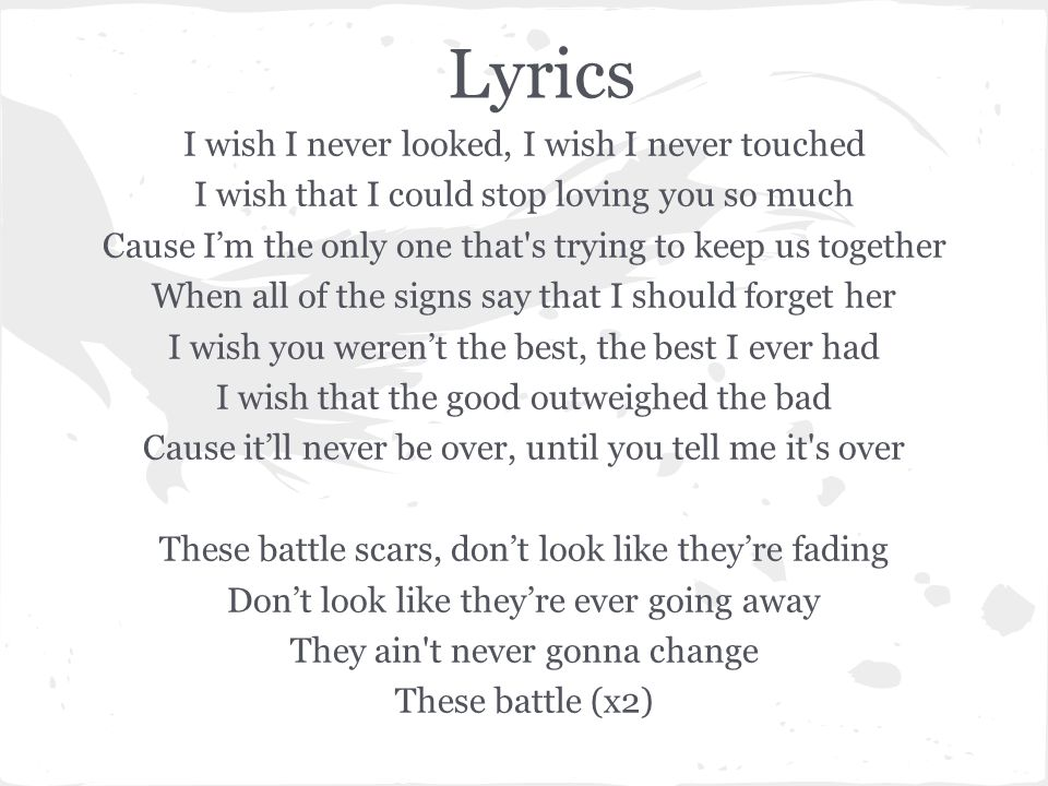 Lyric don t tell me what to do lyrics : By: Guy Sebastian and Lupe Fiasco - ppt download