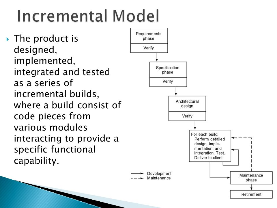 Toy Models Product : Software life cycle models ppt video online download