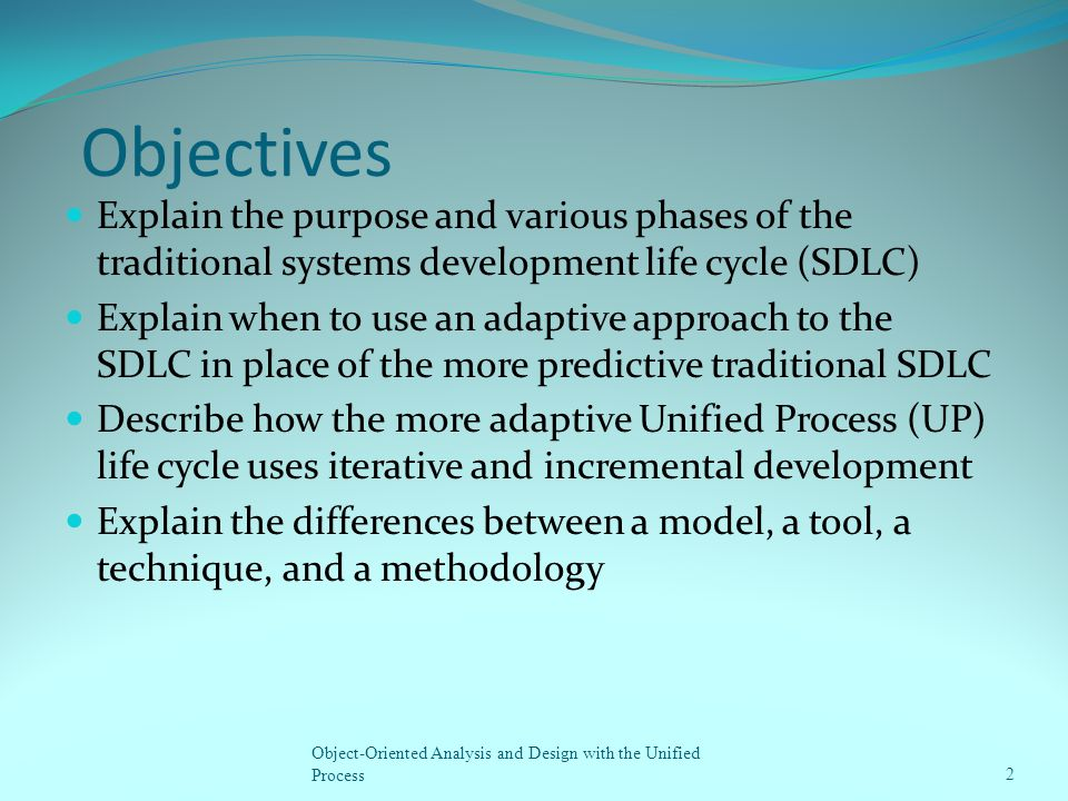 traditional life cycle model