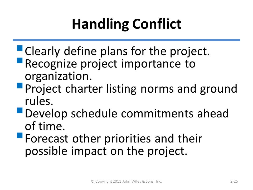 Coordinating Project Activities