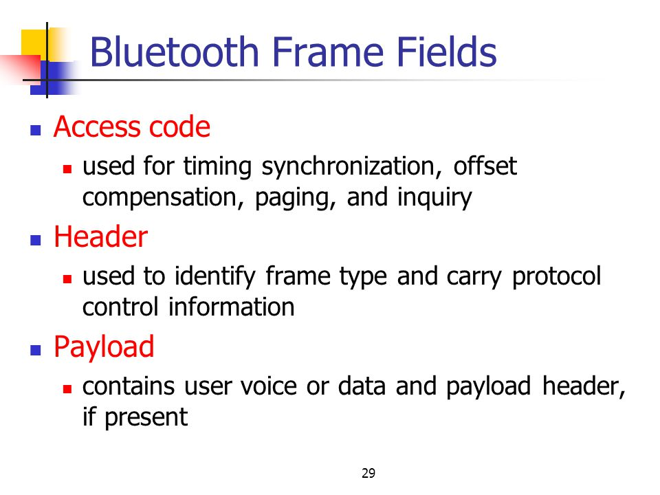 Bluetooth PANs IEEE ppt video online download