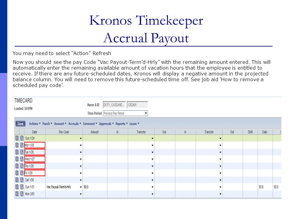 for Payroll Administrators (Hourly employees – weekly pay