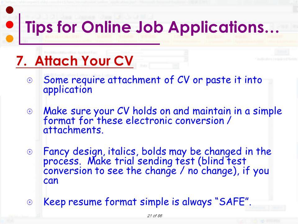 Preparing Your Online Job Application Workshop - ppt download