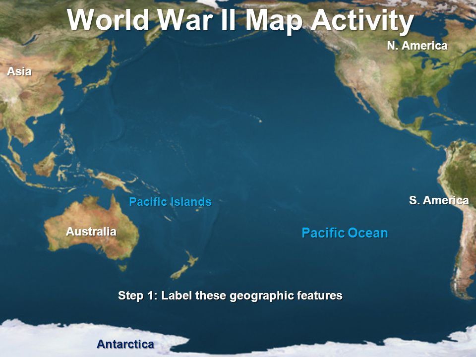 Mapping the pacific theater ppt video online download world war ii map activity gumiabroncs Images