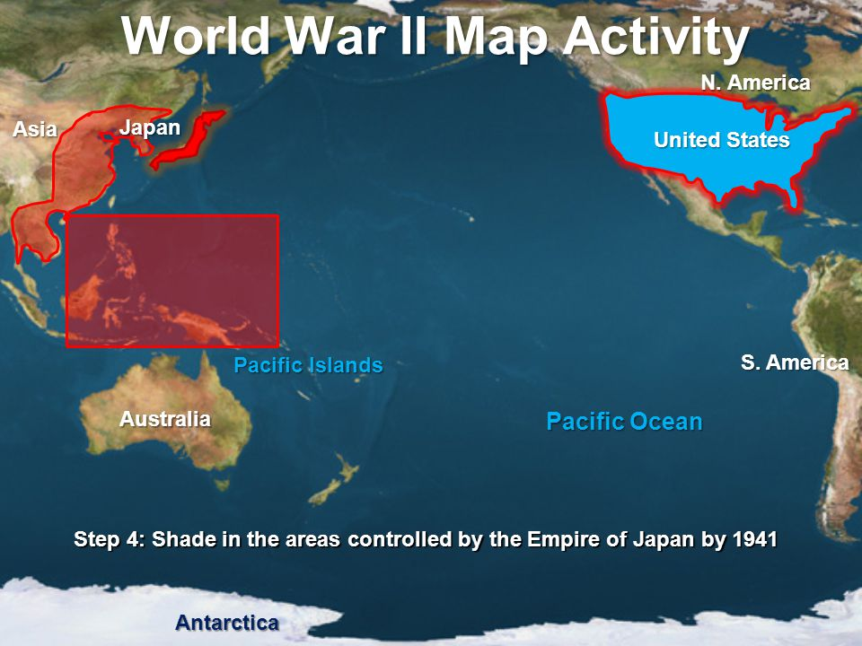 Map Of America And Japan.Mapping The Pacific Theater Ppt Video Online Download