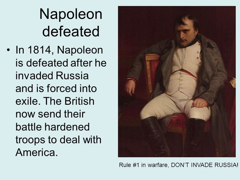 Napoleon defeated