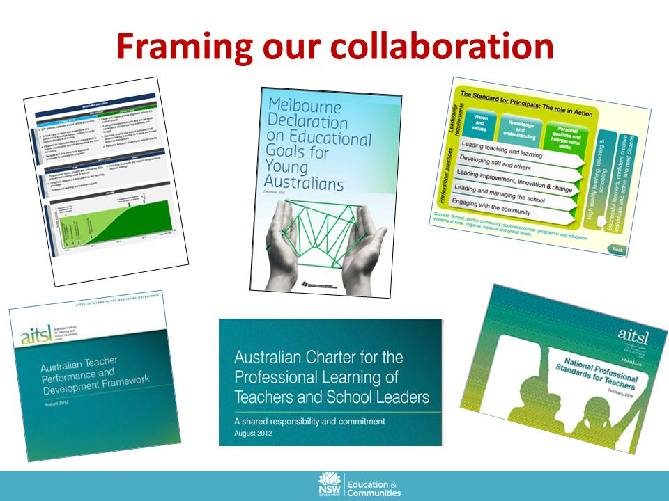 Framing our collaboration