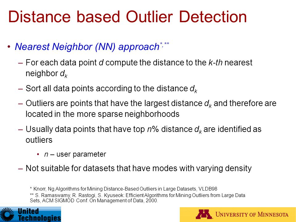 Anomaly Detection: A Tutorial - ppt download