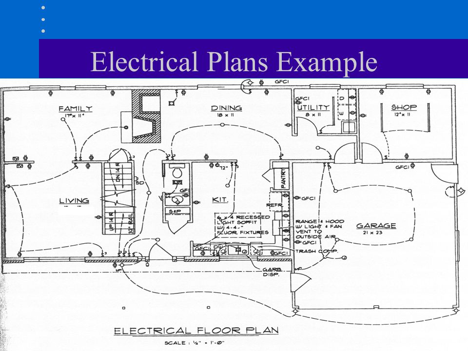 electrical plan notations electrical plan ppt #14