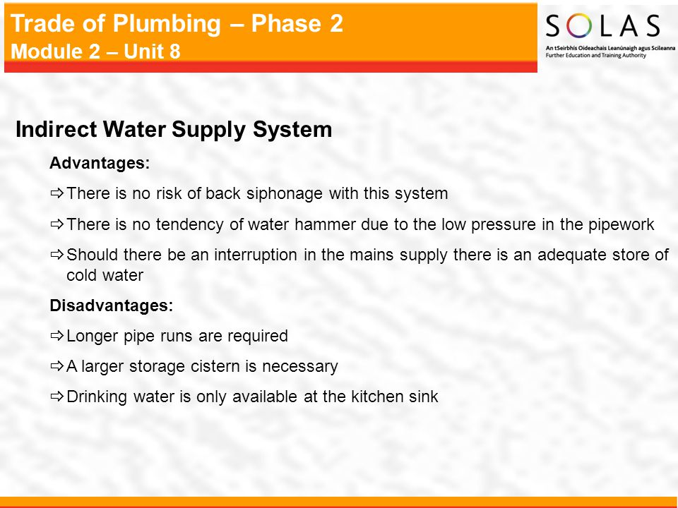 Domestic Hot And Cold Water Services Ppt Video Online