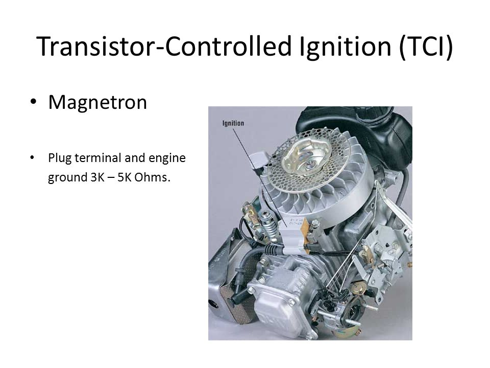 Transistor-Controlled Ignition (TCI)