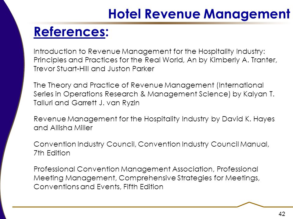 introduction to revenue management for the hospitality industry principles and practices for the real world an