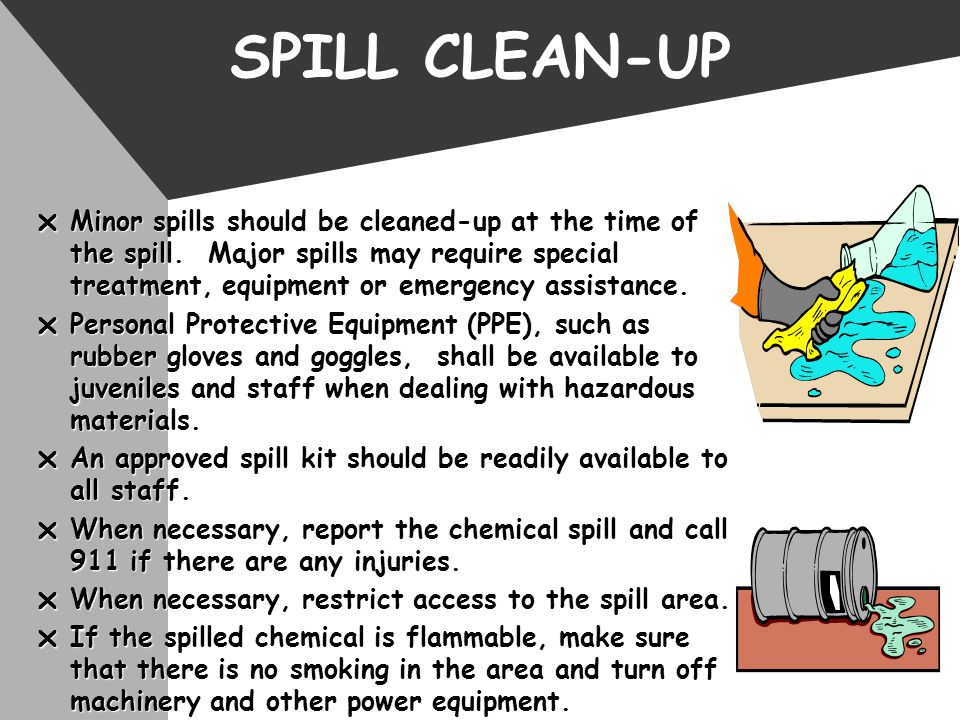 SPILL CLEAN-UP