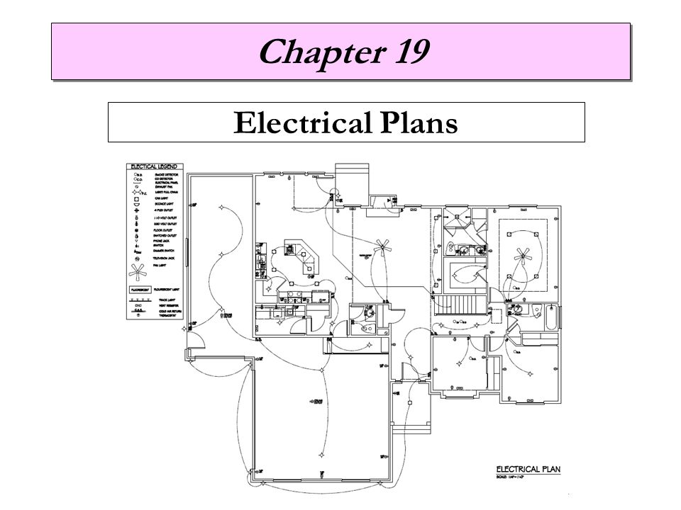 chapter 19 electrical plans ppt video online download. Black Bedroom Furniture Sets. Home Design Ideas