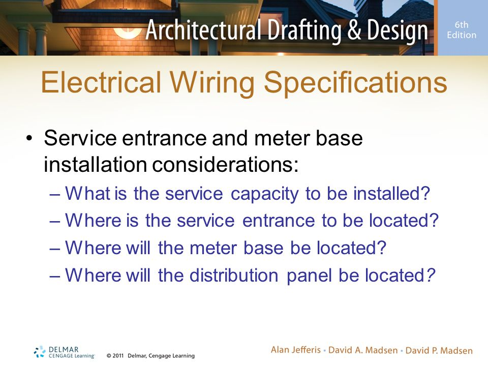 Chapter 19 Electrical Plans. - ppt video online download