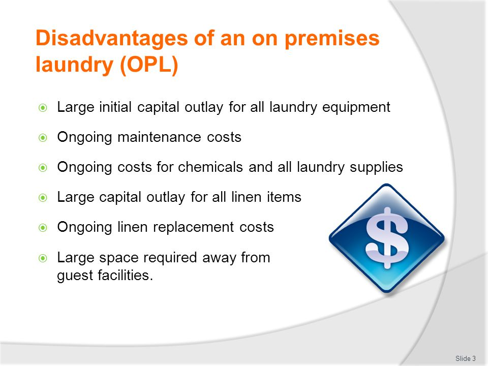 on premise laundry definition