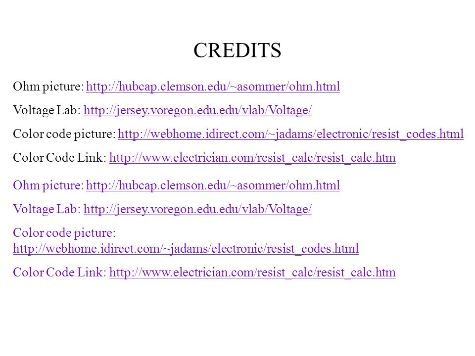 Circuits Current Resistance Ohms Law Ppt Download